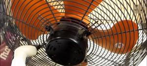 扇風機(ガード)の掃除