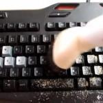 キーボードの掃除