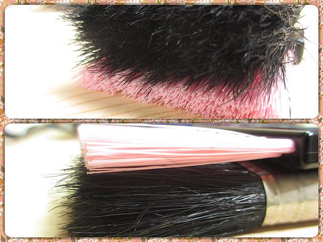 ダスター刷毛とミニホウキの比較