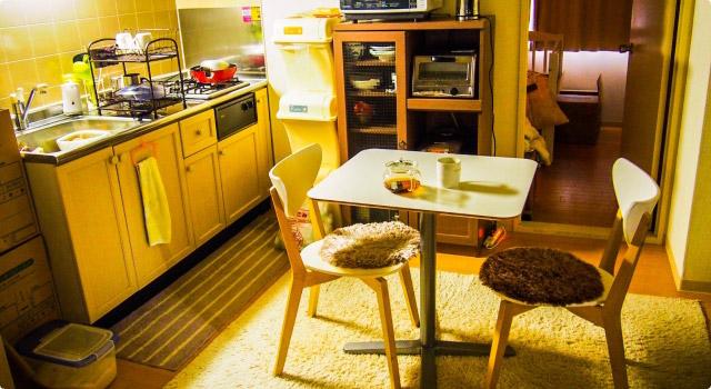 狭い部屋(キッチン・台所)