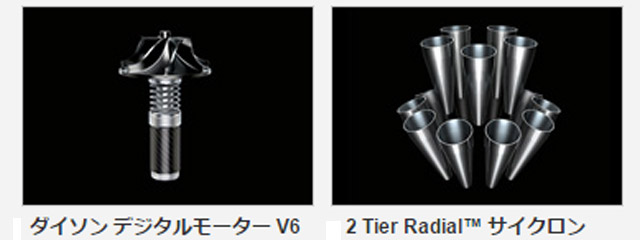 2 Tier Radial™ サイクロン