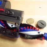 dc35/dc45のモーターヘッド-ブラシバーの取り外し方