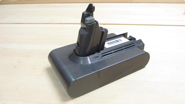 ダイソンコードレスクリーナーに採用されているバッテリーの特徴