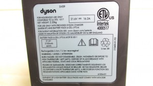 バッテリーの電圧と容量