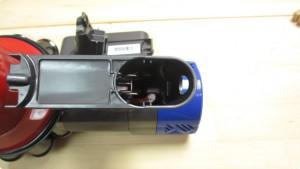 ダイソンコードレスクリーナーのバッテリー
