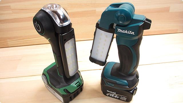 電動工具メーカーのコードレスクリーナーに使用されているバッテリーがあると停電になっても安心