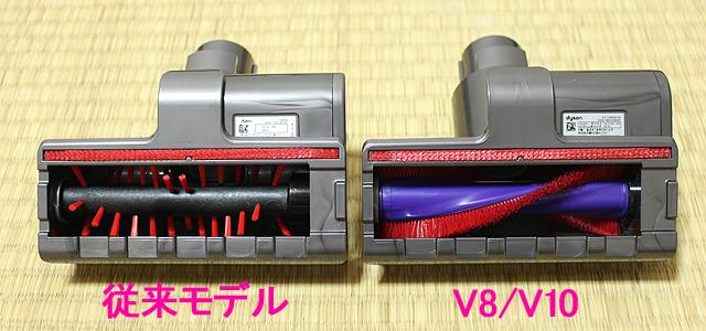 V8/V10のミニモーターヘッド