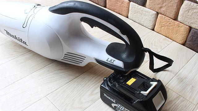 マキタ掃除機-バッテリー