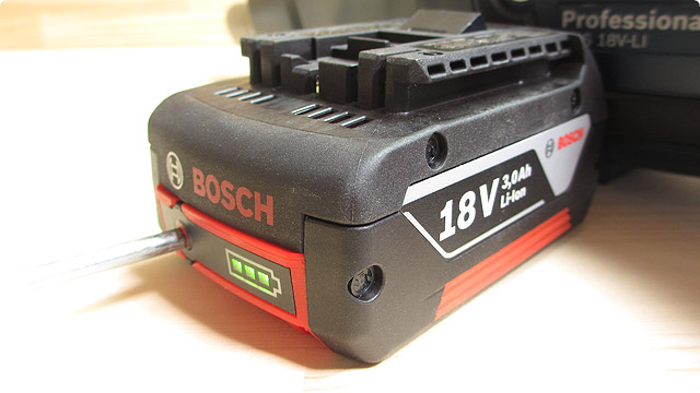 BOSCH-リチウムイオンバッテリー