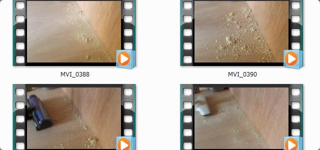 ダイソン 壁際の動画