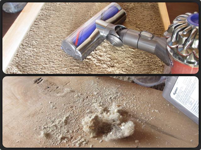 ダイソンの「Animal」と「Fluffy」どちらがカーペットから多くのゴミを除去できるのか検証