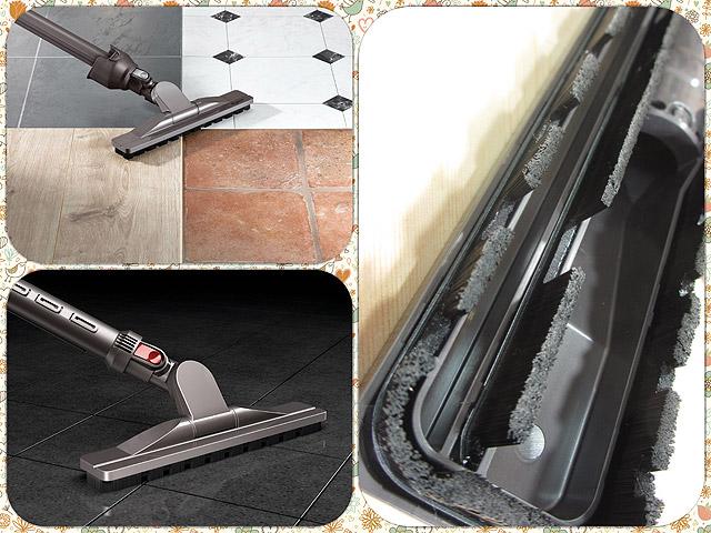 毎日のフローリングの掃除に最適!軽くて床に傷がつきにくいダイソンの「ハードフロアツール」