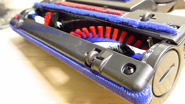 回転ブラシ付きモーターヘッド