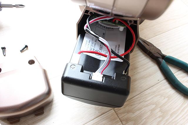 内蔵バッテリー