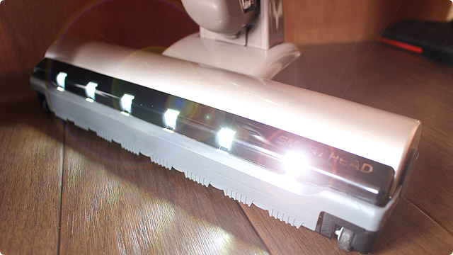 スマートヘッド LEDライト点灯
