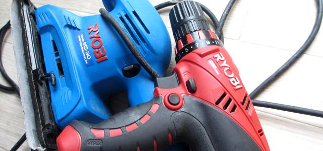 リョービの電動工具