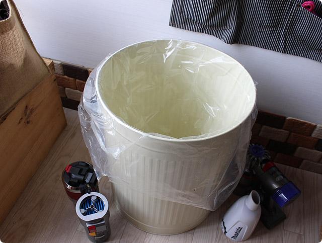 大きなお洒落なゴミ箱