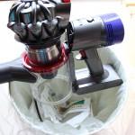 ダイソンV8 ゴミ捨て方法