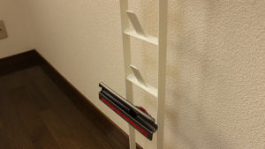 山崎実業 クリーナースタンド(Plate-3559)-アクセサリ収納部