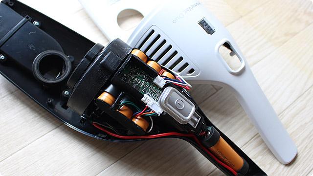 HomeVac Duo バッテリー交換方法