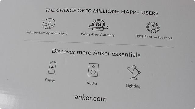 Anker 保証期間と送料
