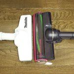 マキタ掃除機とEC-A1Rのヘッドの大きさ比較