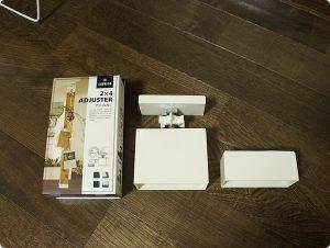 LABRICO DIY 2×4アジャスター オフホワイト DXO-1