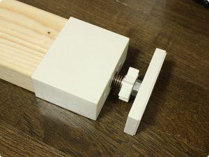 LABRICO DIY 2×4アジャスター オフホワイト DXO-1 取り付け方