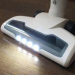 eufy-HomeVac-ヘッドのLEDライト