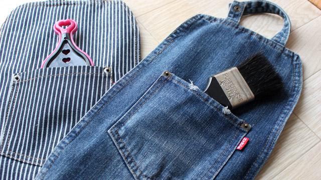 ティッシュケース 背面ポケット