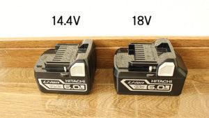 「R14DA」「R18DA」バッテリー