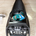 BOSCH-GAS 18V-1の2ステージ方式のローテーションエアフィロー(ダストフィルター)