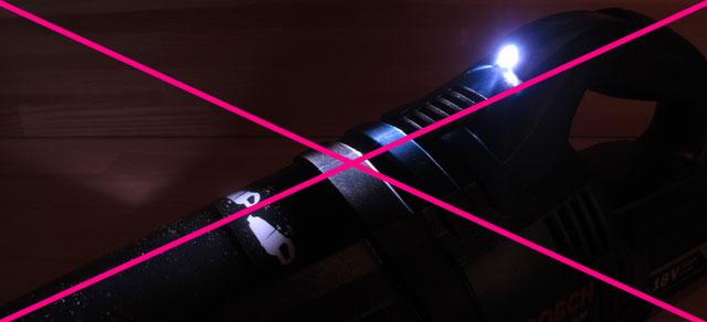 GAS18V-1型 LEDライト機能