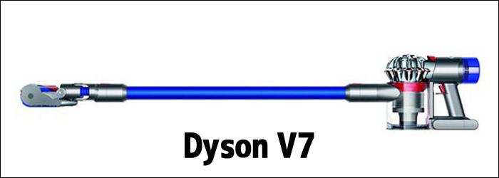 ダイソン コードレスクリーナー V7 性能比較表