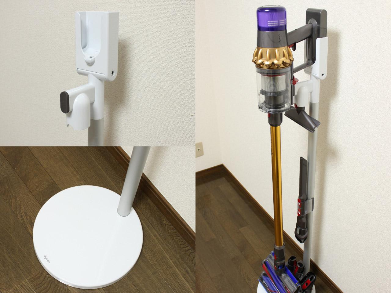 ダイソンV11の充電方法(充電ドック・スタンド)