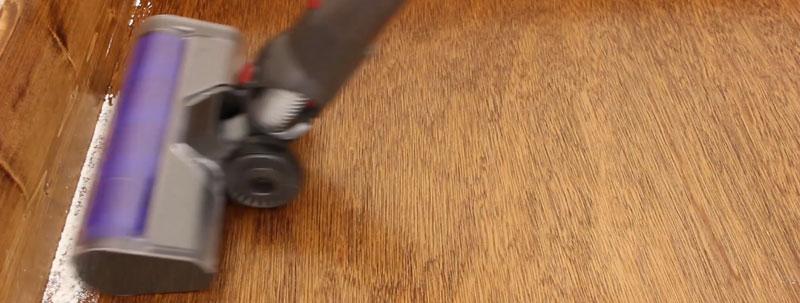 壁際の掃除力