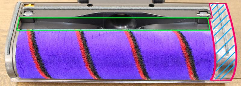 EZ SPARESのソフトローラークリーナーヘッド(吸込口)