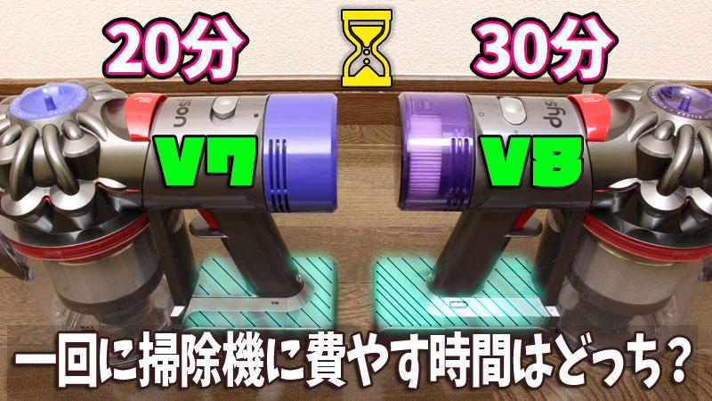 [V7 Slim][V8 Slim]連続運転の違い