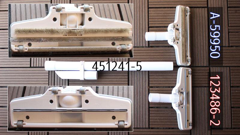 マキタ充電式クリーナーの延長管とヘッド