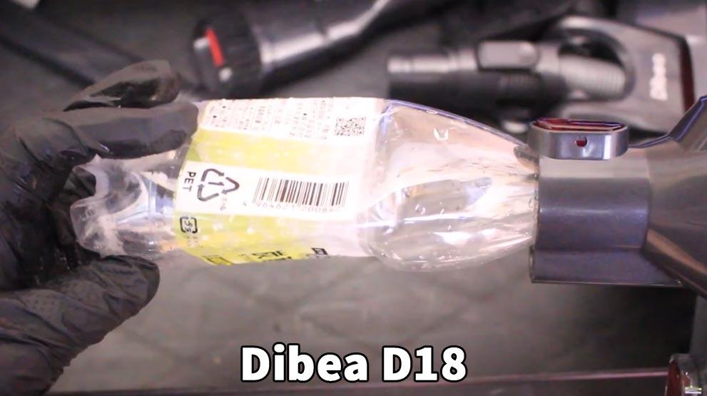 Dibea(D18)とダイソンの吸引力比較