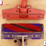マキタとダイソンマイクロのクリーナーヘッド(吸込口の比較)