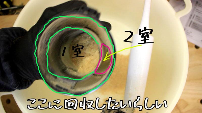 2段サイクロン式ユニット(2室)