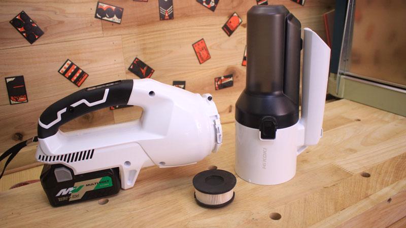 R36DA(2段サイクロン式ユニット)吸引力