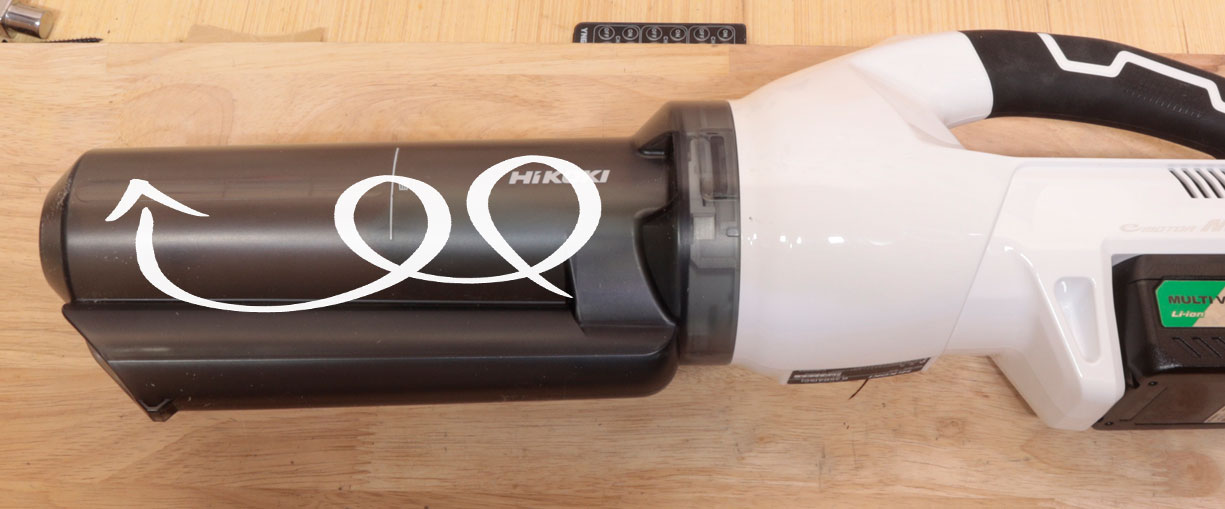 R36DA 1段サイクロン式ユニット(0037-6495)