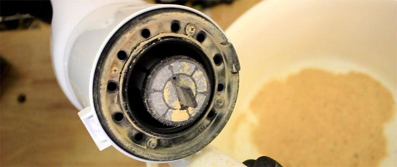 2段サイクロン式ユニット(0037-6496)ゴミ捨て