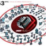 マキタ 40Vmaxシリーズ ラインナップ一覧