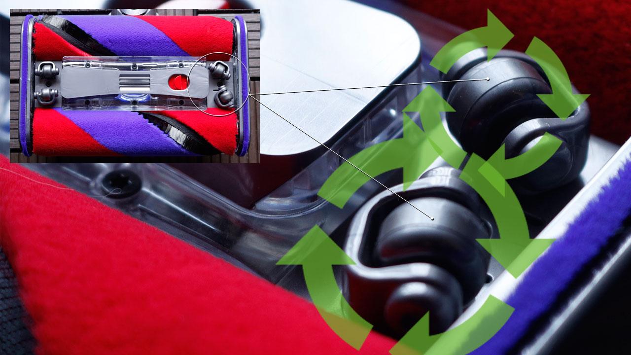 Dyson Omni-glide(キャスターホイール)