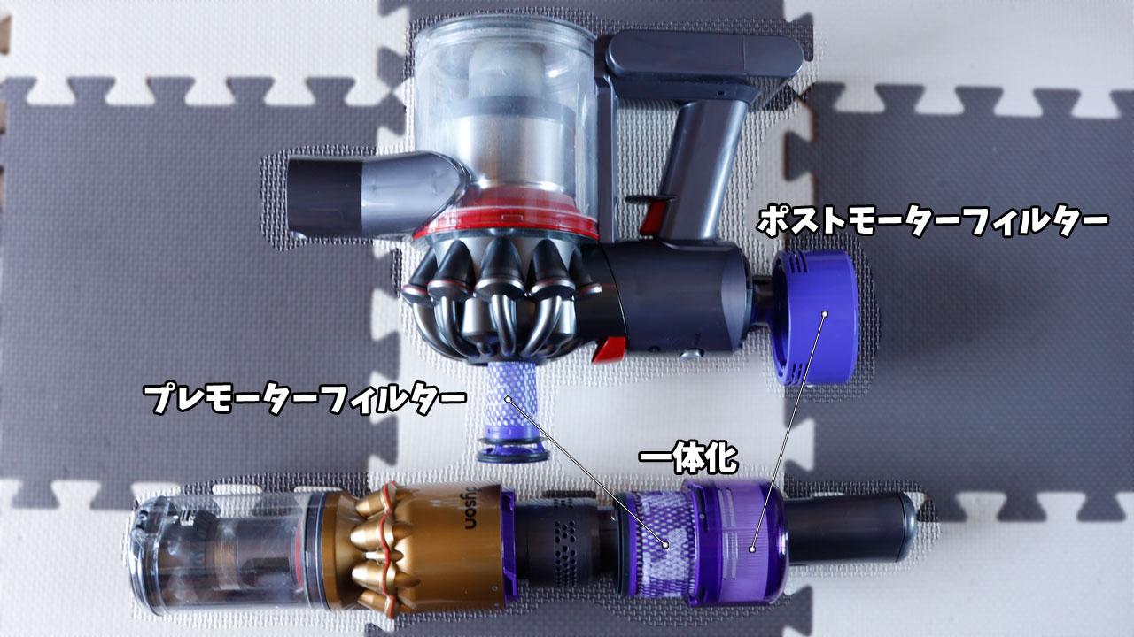 Dyson Omni-glide(フィルターのお手入れ方法)