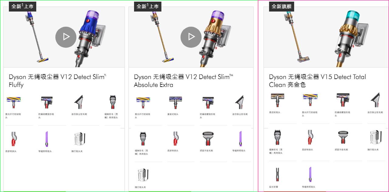 Dyson V12 Detect Slim Total Clean/Dyson V15 Detect Total Clean