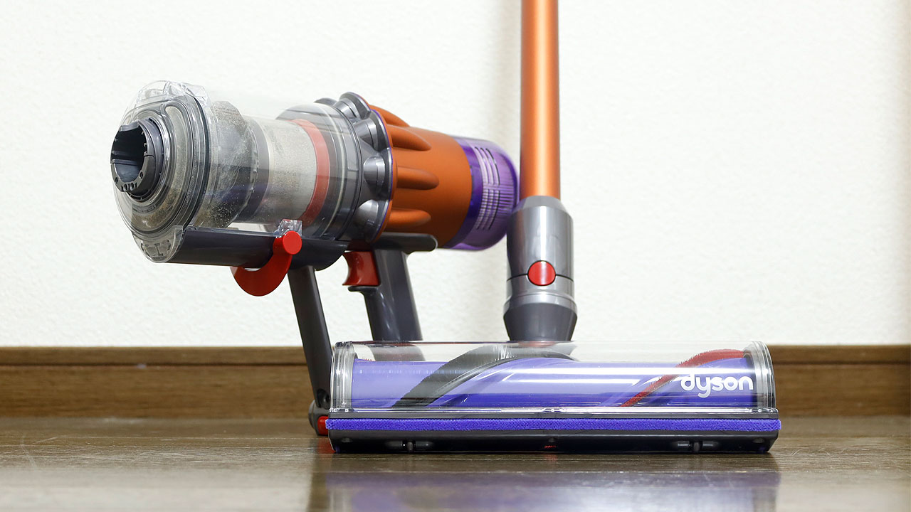 Dyson Digital Slim+V12 Detect Slim(ダイレクトドライブクリーナーヘッド)